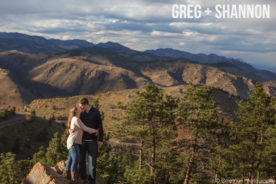 Lookout Mountain Engagement Photography