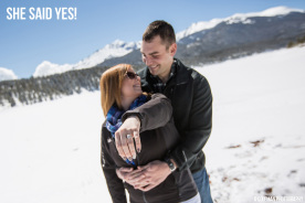 Pikes Peak Proposal Photography