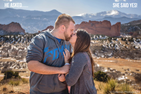 Proposal at Garden Of The Gods