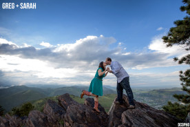 Lookout Mountain Colorado Engagement Photographer