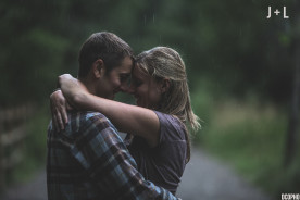 Rainy Engagement Photography Golden Colorado
