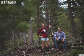 Summer Engagement Session Woodland Park and Green Mountains Falls Colorado