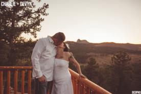 Mountain Cabin Wedding Woodland Park Colorado