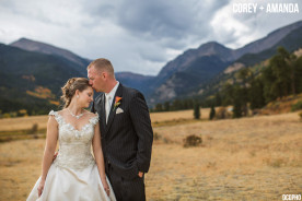 Fall Estes Park Colorado Wedding Rocky Mountain National Park