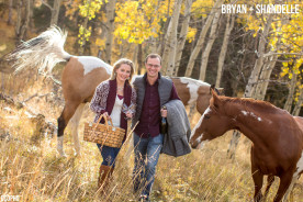 Creative Colorado Fall Engagement Photography