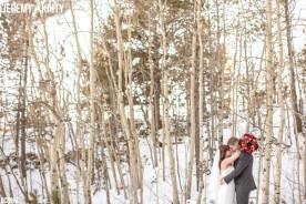 Pikes Peak Colorado Winter Wedding Photography