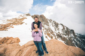Pikes Peak Colorado Engagement Photographer