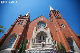 St. Mary's Cathedral Colorado Springs Wedding Photography