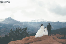Colorado Winter Elopement Photography Garden of the Gods