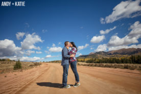 Fall Colorado Engagement Photography