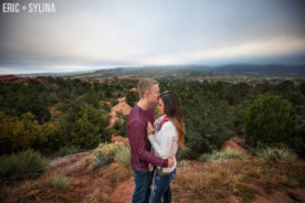 Colorful Fall Colorado Engagement Photography