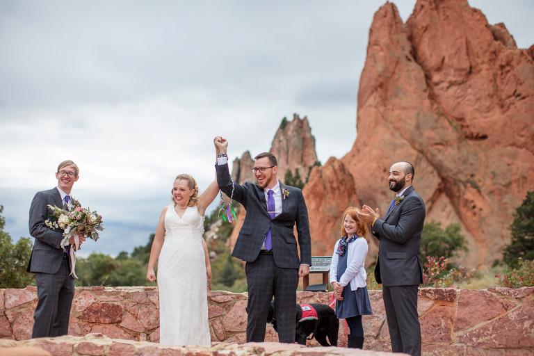 Garden Of The Gods Colorado Wedding Photographer